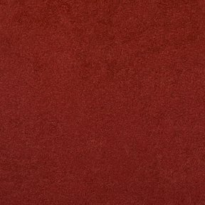 Picture of Passion Suede Tomato upholstery fabric.