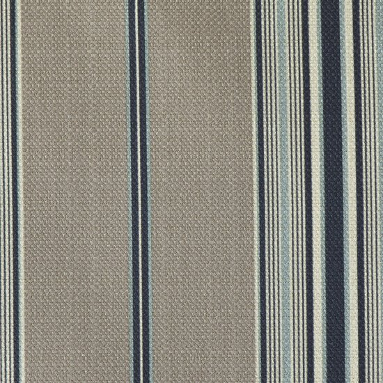 Picture of Foundingstripe Sky upholstery fabric.