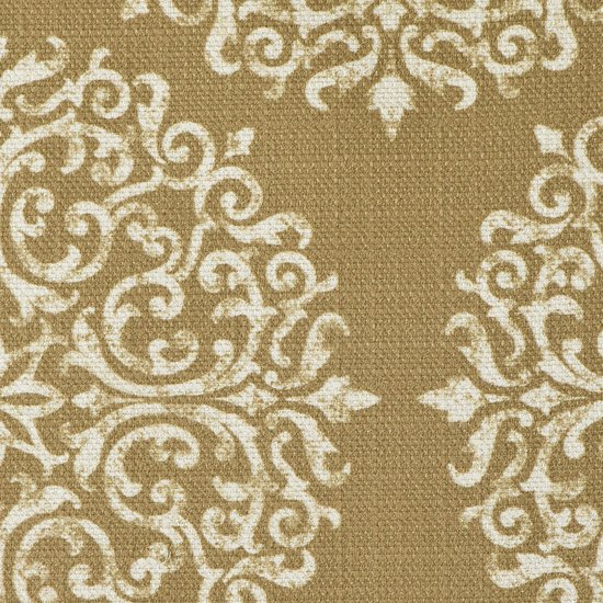 Picture of Gabrielle Gold upholstery fabric.