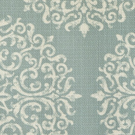 Picture of Gabrielle Sky upholstery fabric.