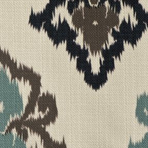 Picture of Kismet Sea upholstery fabric.