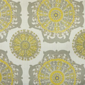 Picture of Pinwheel Sunny upholstery fabric.