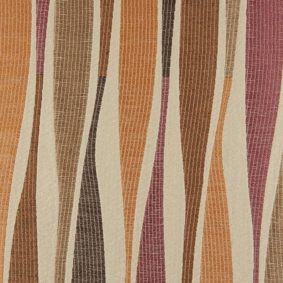 Picture of Rumba Spice upholstery fabric.