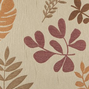 Picture of Aloha Spice upholstery fabric.