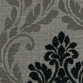 Picture of Roxbury Lake Peppercorn upholstery fabric.