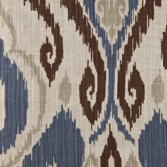 Picture of Raja Wedgewood upholstery fabric.