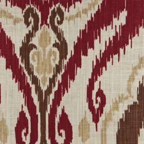 Picture of Raja Spice upholstery fabric.