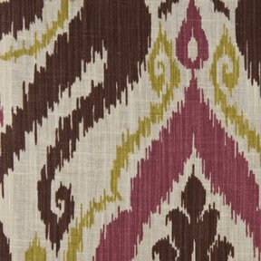 Picture of Raja Meadow upholstery fabric.