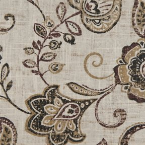 Picture of Lily Sand upholstery fabric.
