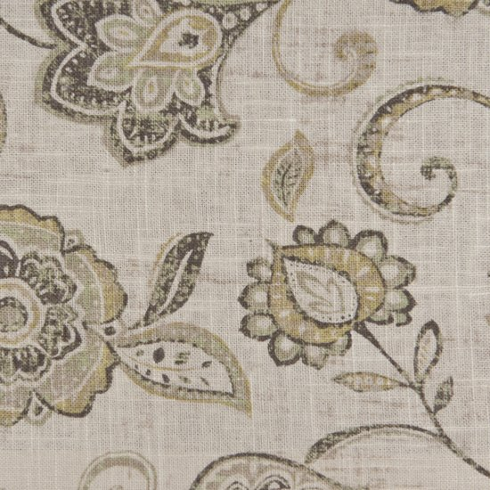 Picture of Lily Greystone upholstery fabric.