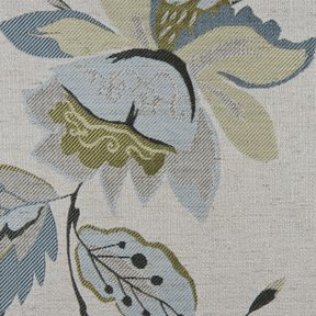 Picture of Felicia Sky upholstery fabric.