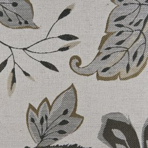 Picture of Felicia Pewter upholstery fabric.
