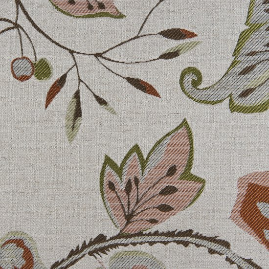 Picture of Felicia Citrus upholstery fabric.