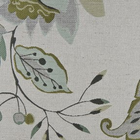 Picture of Felicia Aloe upholstery fabric.