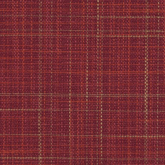 Picture of Corner Texture Barn Red upholstery fabric.