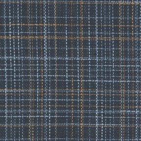 Picture of Corner Texture Mallard Blue upholstery fabric.