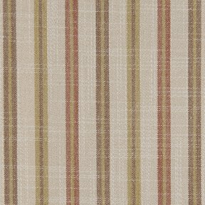Picture of Casual Stripe Pumpkin upholstery fabric.