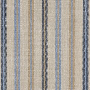 Picture of Casual Stripe Mallard Blue upholstery fabric.