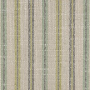 Picture of Casual Stripe Cottage Green upholstery fabric.