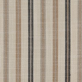 Picture of Casual Stripe Black Stone upholstery fabric.