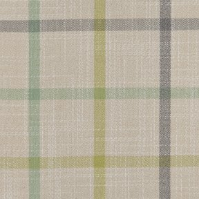 Picture of Casual Plaid Cottage Green upholstery fabric.