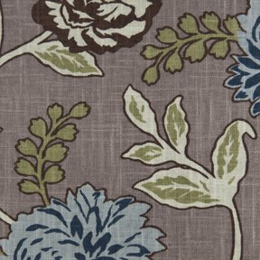 Picture of Cassandra Wedgewood upholstery fabric.