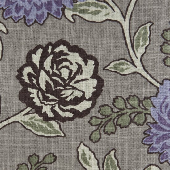 Picture of Cassandra Thistle upholstery fabric.