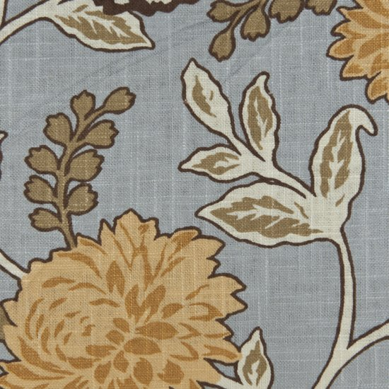 Picture of Cassandra Sky upholstery fabric.
