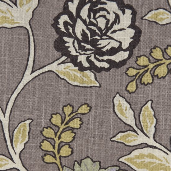 Picture of Cassandra Greystone upholstery fabric.