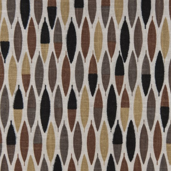 Picture of Cameron Chocolate upholstery fabric.