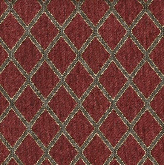 Picture of Ramses Ruby upholstery fabric.
