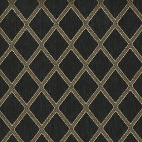 Picture of Ramses Black upholstery fabric.