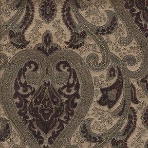 Picture of Monte Cristo Wine upholstery fabric.