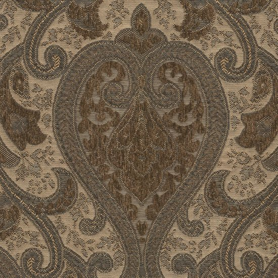 Picture of Monte Cristo Pecan upholstery fabric.