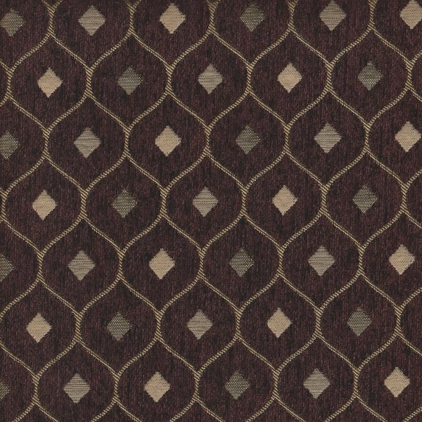 Picture Of Mercedes Wine Upholstery Fabric.