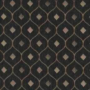 Picture of Mercedes Black upholstery fabric.