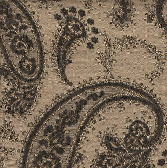 Picture of Gisele Dark Brown upholstery fabric.