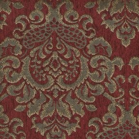 Picture of Cleopatra Ruby upholstery fabric.