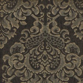 Picture of Cleopatra Dark Brown upholstery fabric.