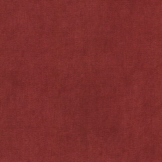 Picture of Hill Street Red upholstery fabric.
