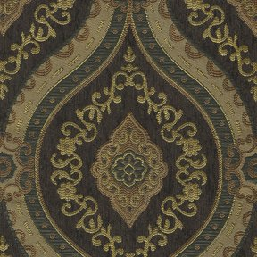 Picture of Treasure Dark Brown upholstery fabric.