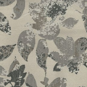 Picture of Foliage Silver upholstery fabric.