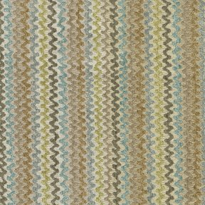 Picture of Swingers Raindance upholstery fabric.