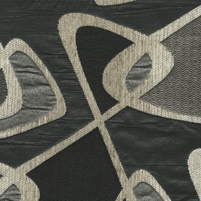 Picture of Skylar Onyx upholstery fabric.