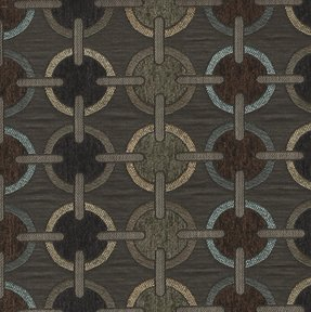 Picture of Orbit Silver upholstery fabric.