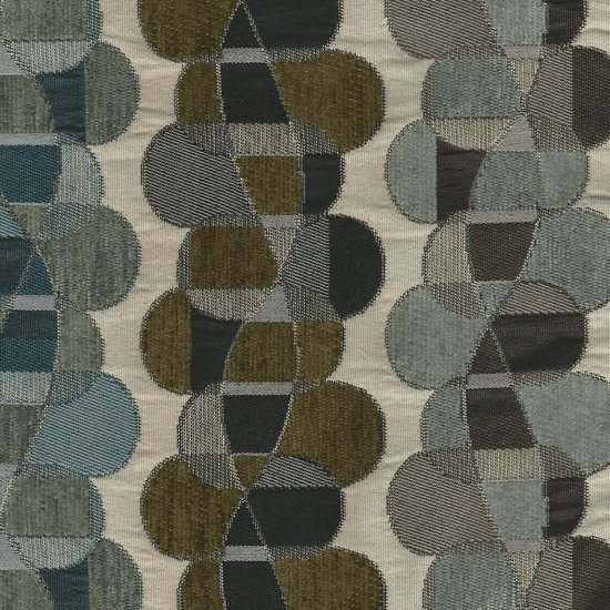 Picture of Helix Ice upholstery fabric.