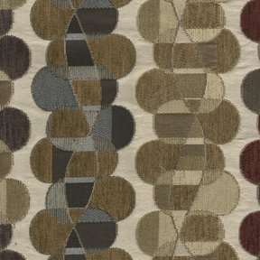 Picture of Helix Custard upholstery fabric.