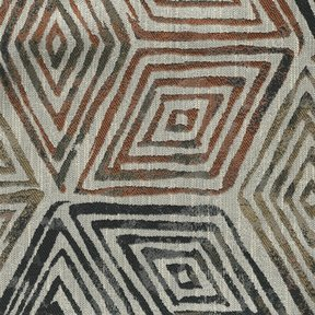 Picture of Tulum Earth upholstery fabric.