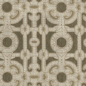 Picture of Locket Khaki upholstery fabric.