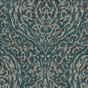 Picture of Spirit Turquoise upholstery fabric.